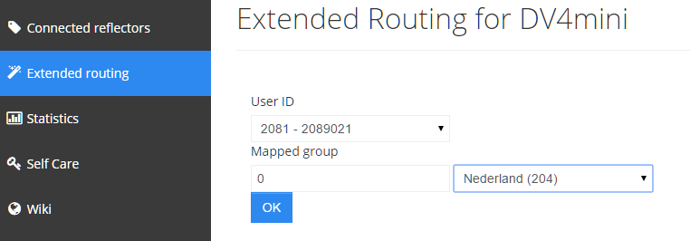 Extended routing 2